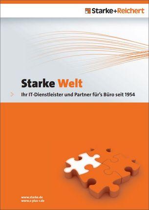 """Firmenbroschüre """"Starke Welt"""" Firma Starke+Reichert"""