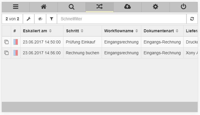 """iPhone-Ansicht """"Workflow"""""""