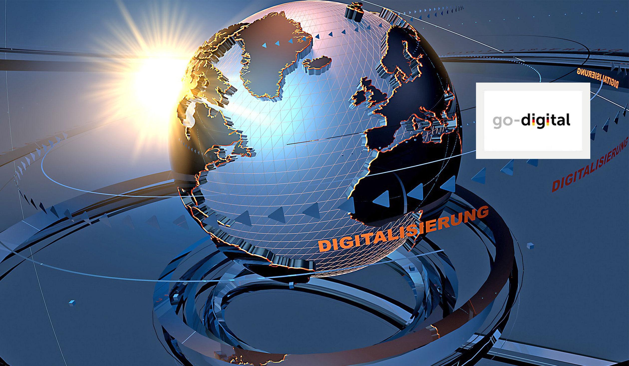 """Grafik Förderprogramm """"go digital"""""""