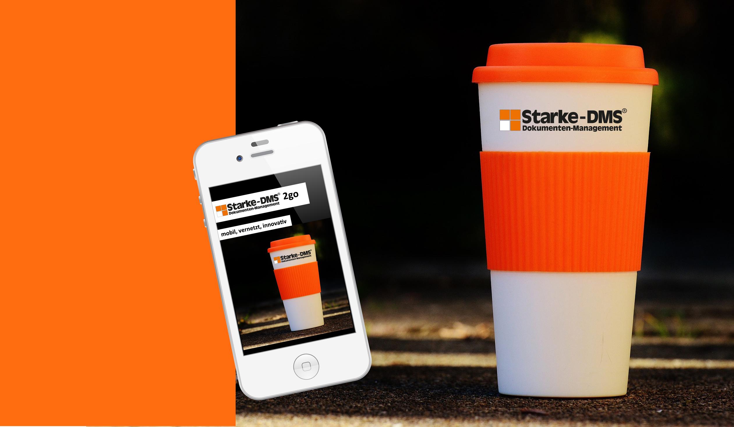 Starke-DMS® DMS2go App Startbanner