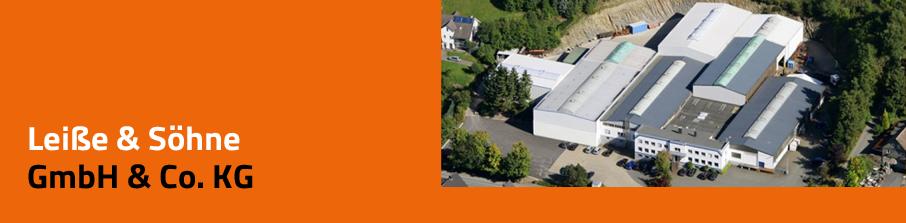 Starke-DMS® Referenz Leiße & Söhne GmbH & Co. KG, Luftbild Firmengebäude